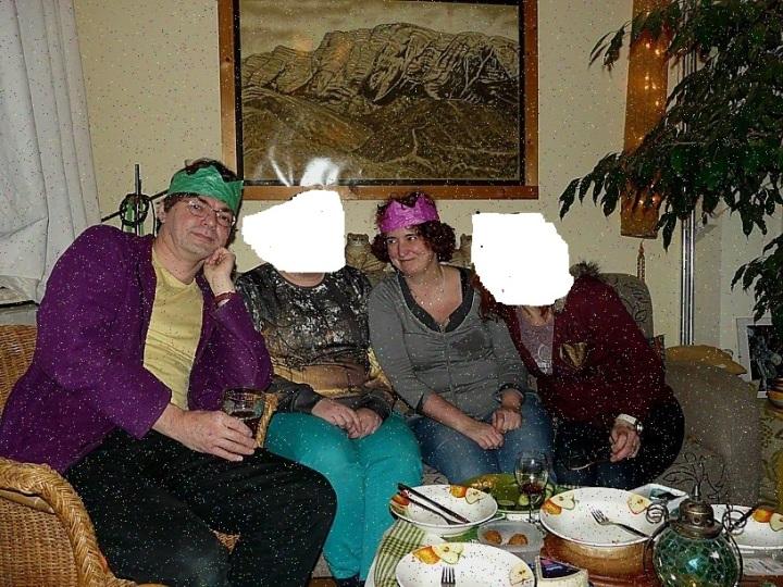 Ratna en Wouter in feestverpakking