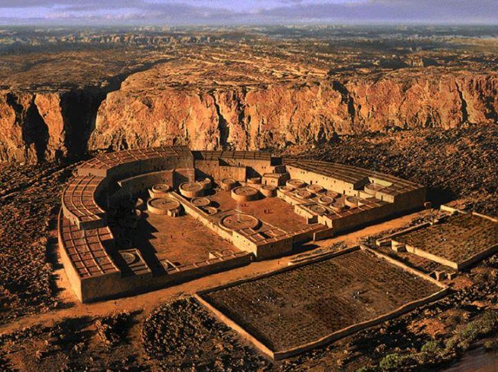 Pueblo Bonito reconstructie