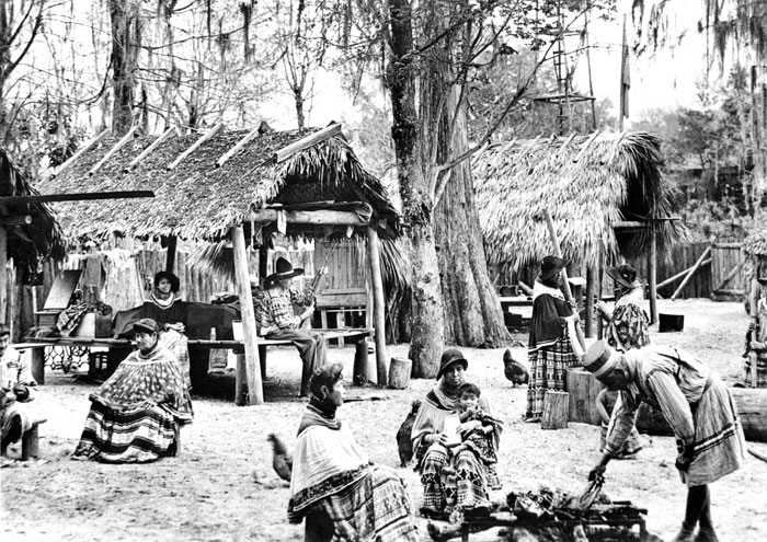 Seminole Village 1938 Fort Myers