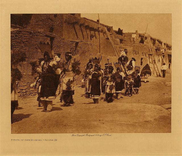 Acoma feest vab San Estevan (over syncretisme)