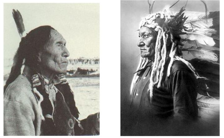 Black Elk en Sitting Bull