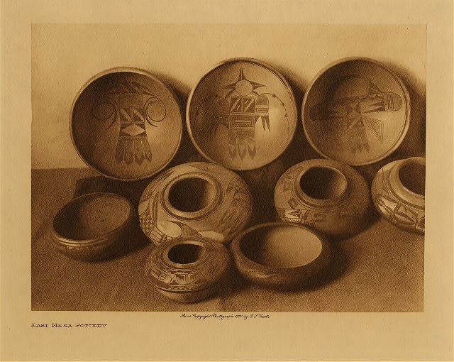 Curtis East Mesa Pottery 1906