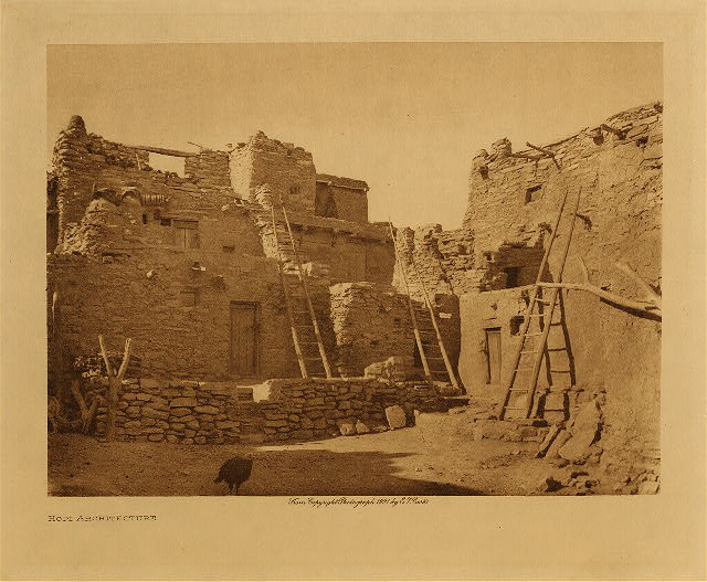 Curtis Hopi architecture