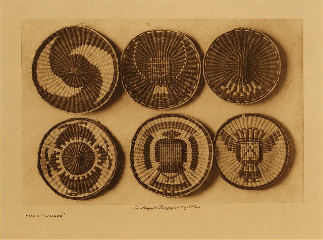 Curtis Oraibi Plaques 1921