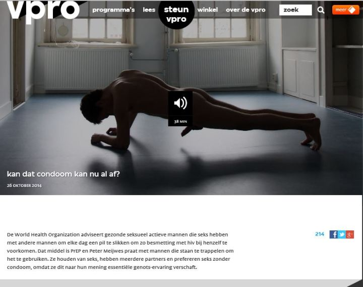 radio documentaire VPRO over HIV